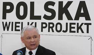 Prezes PiS Jarosław Kaczyński z uwagą pochylił się nad projektem Czesława Bieleckiego
