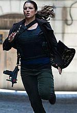 Gina Carano skuteczna nawet z podbitym okiem