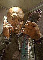 Samuel L. Jackson męczył węża
