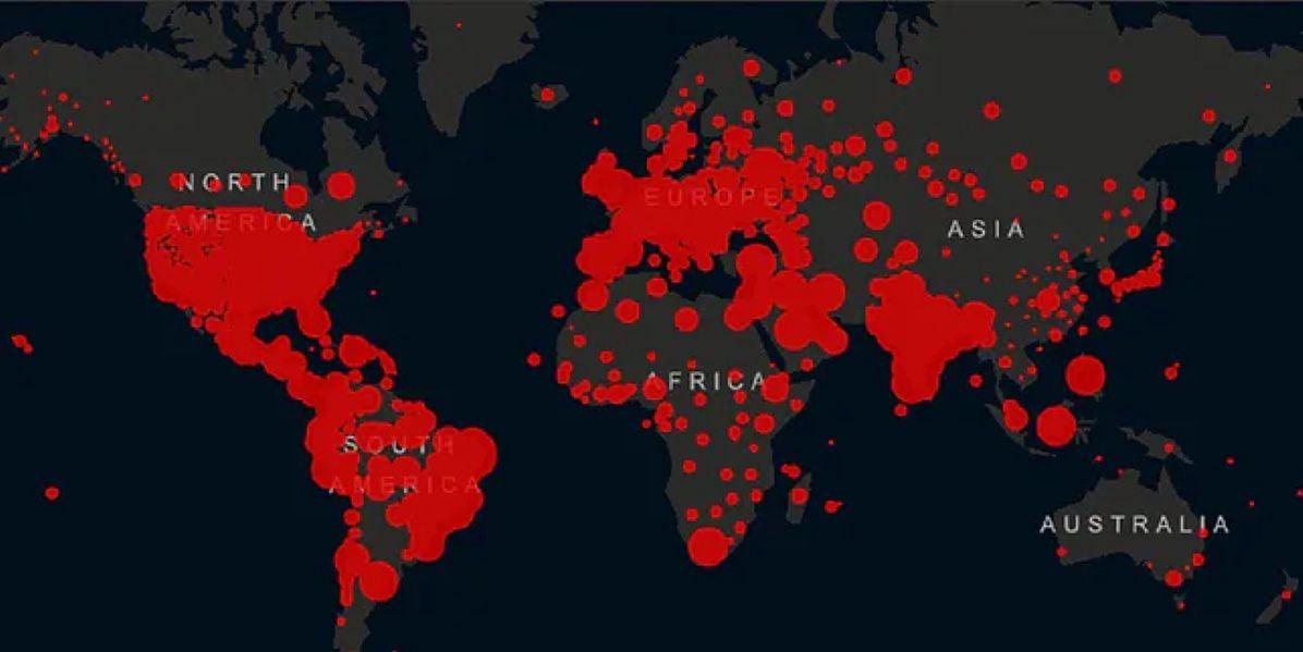 Ponad 42 miliony przypadków zakażenia koronawirusem