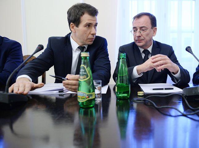 Ernest Bejda i Mariusz Kamiński
