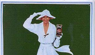Biała dama pierze sama