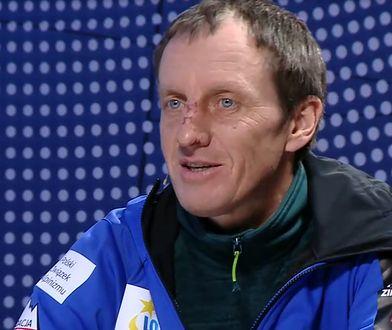 Denis Urubko w swoim domu nie ma żadnych akcentów górskich