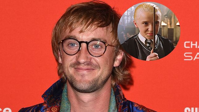 Tom Felton w filmach o Harrym Potterze wcielił się w Draco Malfoya