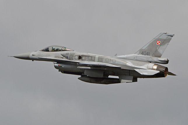 Polskie F-16 dwukrotnie poderwane do rosyjskich samolotów