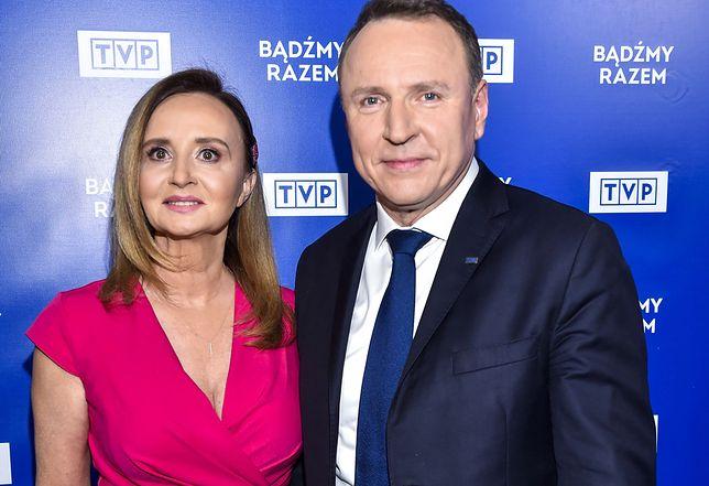 Joanna Kurska i Jacek Kurski byli pod ogromnym wrażeniem występu Andrei Bocellego