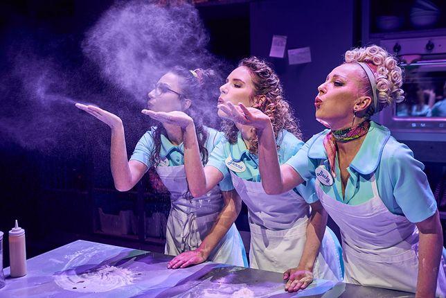 """""""Waitress"""", reż. Wojciech Kępczyński / Teatr Muzyczny Roma / Fot. Karol Mańk"""