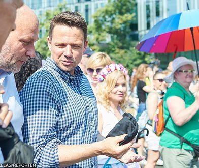 Rafał Trzaskowski na Marszu Równości