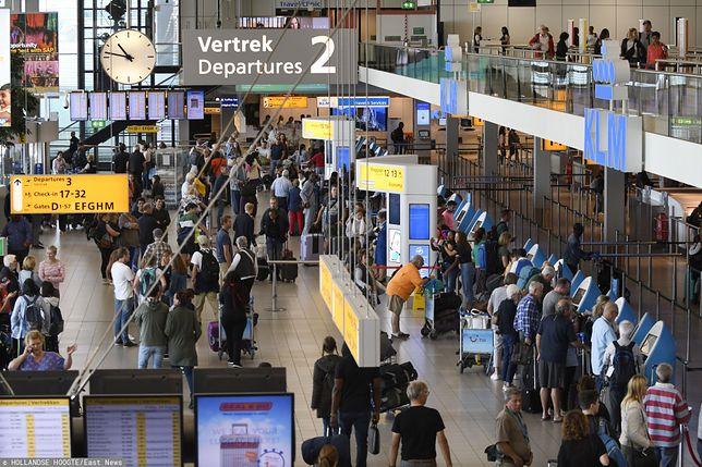 Lotnisko Schiphol (Holandia).