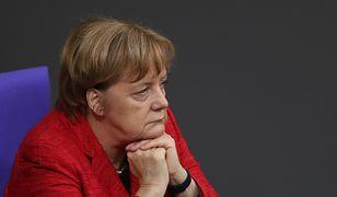 Angela Merkel w Bundestagu po ogłoszeniu fiaska rozmów koalicyjnych