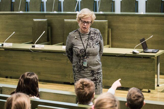 I prezes Sądu Najwyższego Małgorzata Gresdorf