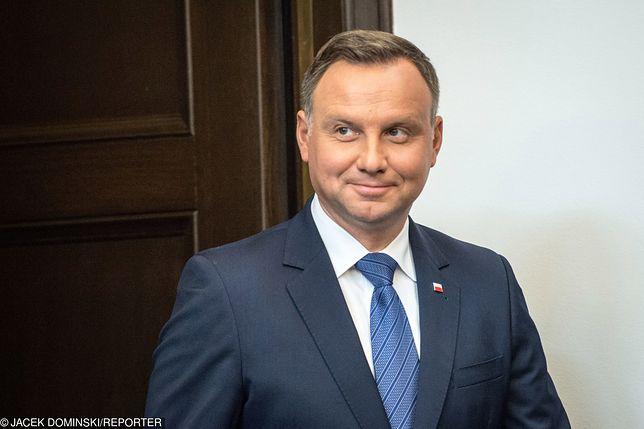 Andrzej Duda wraca na 1 miejsce w rankingu zaufania