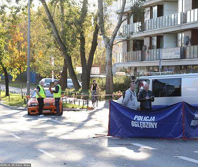 Wypadek na Bielanach w Warszawie. Kierowca BMW może usłyszeć zarzut zabójstwa z zamiarem ewentualnym