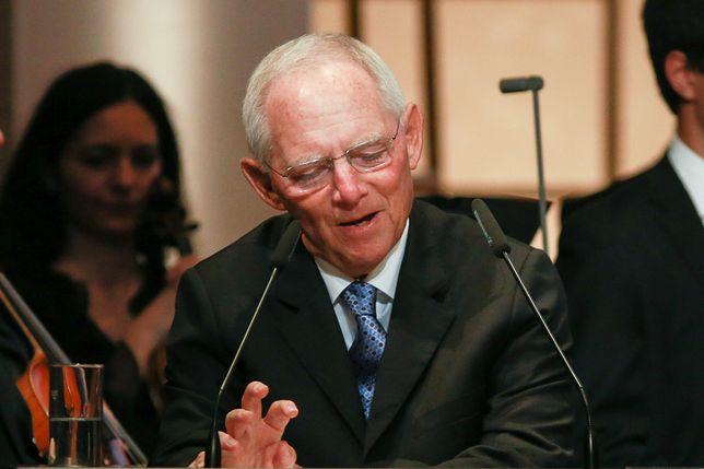 Szef Bundestagu Wolfgang Schaeuble