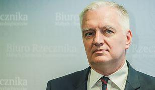 Jarosław Gowin oburzył słowami o zarobkach