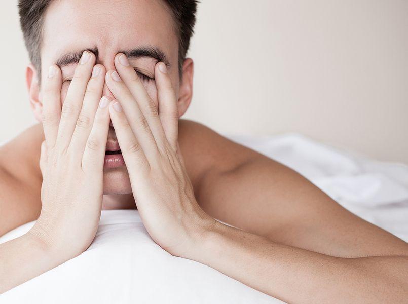 Niewystarczająca ilość snu