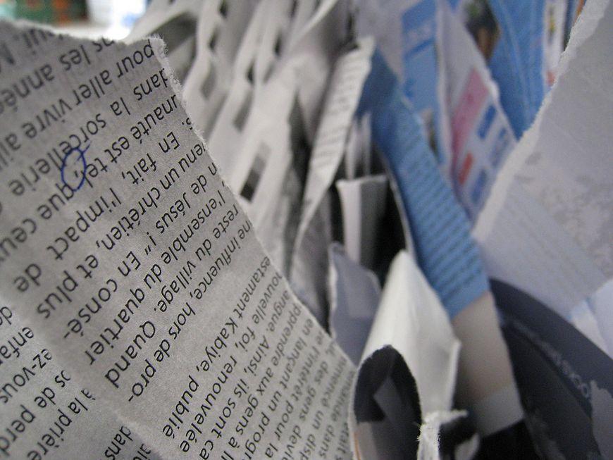 Podarte papiery