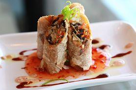 Sajgonki wegetariańskie - wegetariańska przystawka, nie tylko dla wegetarian