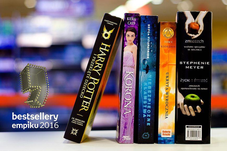 Bestsellery Empiku 2016 - literatura młodzieżowa