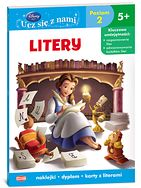 Książka Disney Ucz się z nami. Disney Księżniczka. Litery