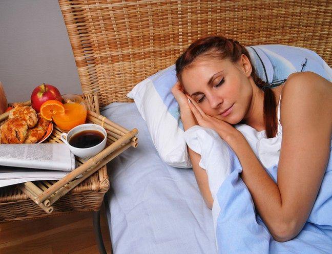 To, co jesz ma wpływ na sen