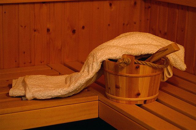Sauna jest dobra na stres