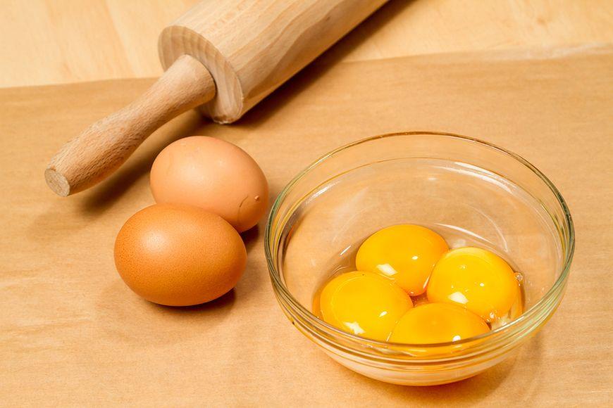 Unikaj żółtek jaja kurzego