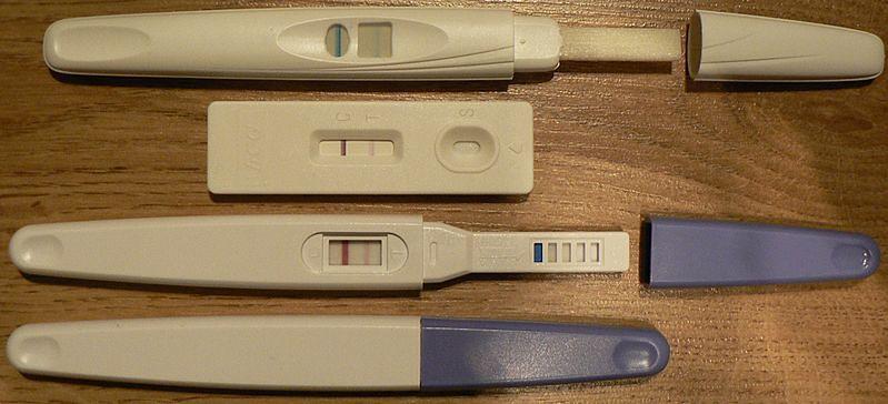 Pozytywne testy ciążowe