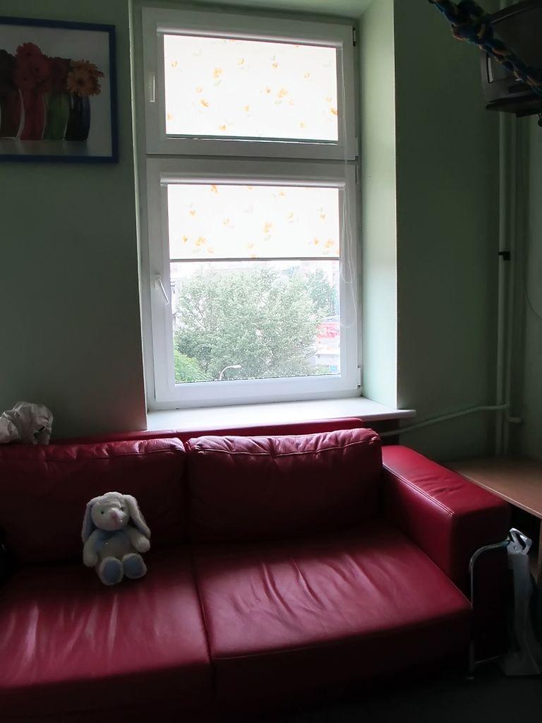 Sofa w sali porodowej