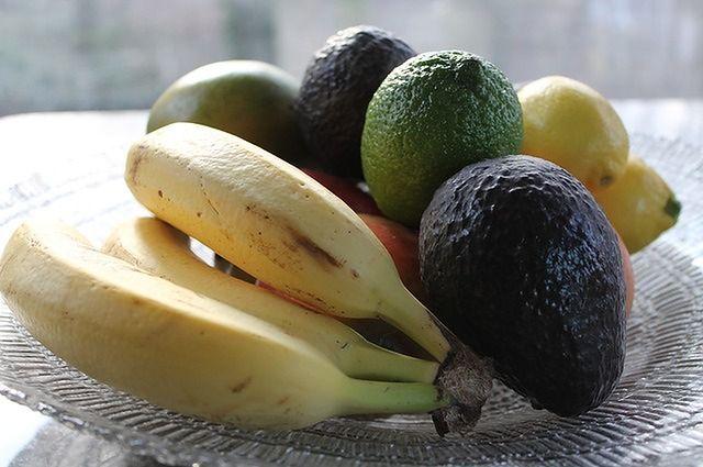 Owoce i warzywa bogate w potas i magnez