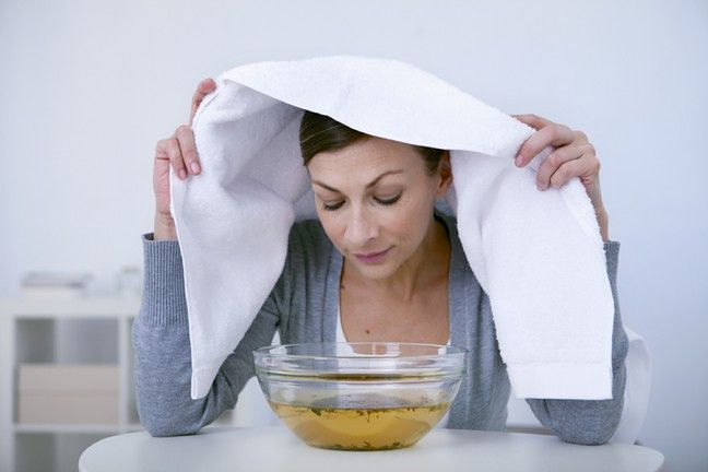Rób inhalacje z olejków