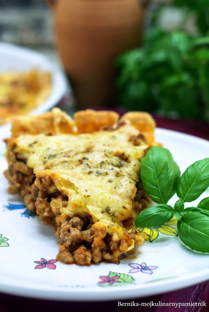Tarta z sosem a la bolognese