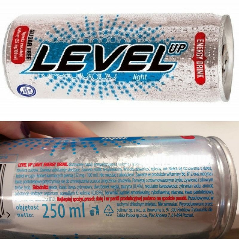 Level Up Light Energy Drink