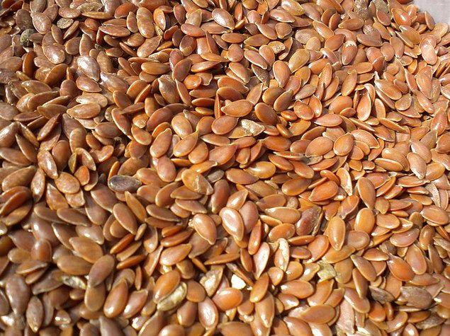 Łyżeczka nasion z lnu