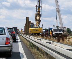 Autostrada A1 zamknięta. Drogowcy burzą wiadukty