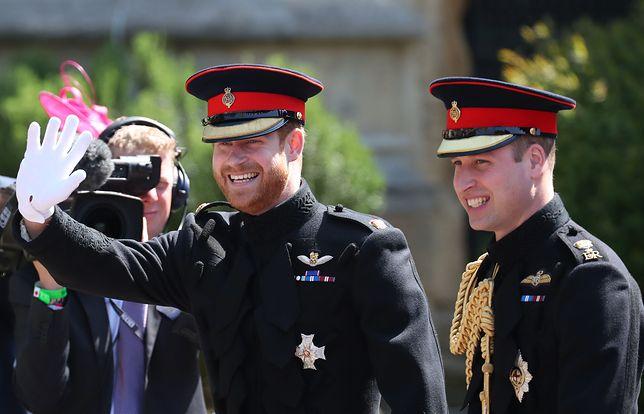 Książę Harry odpowiedział na pytanie o konflikt z bratem, księciem Williamem