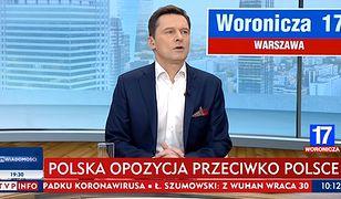 Protest w TVP Info przeciwko paskowi informacyjnemu