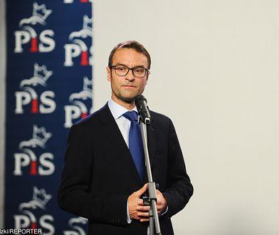 Na zdj. Tomasz Poręba (PiS)
