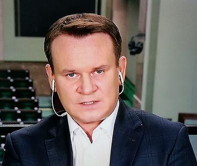 Emocje w TVP Info. Dominik Tarczyński ostro atakował posłów opozycji