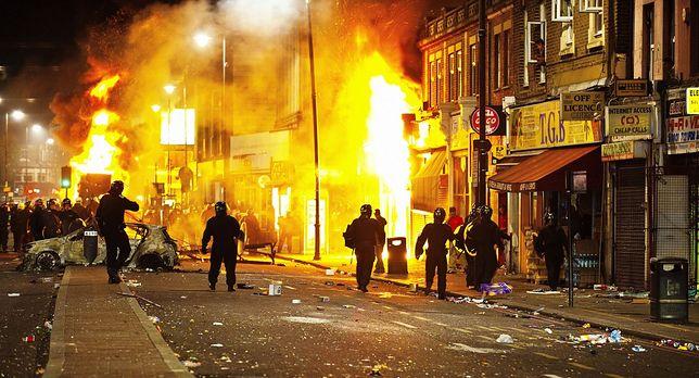 Zamieszki w Londynie w 2011 r.