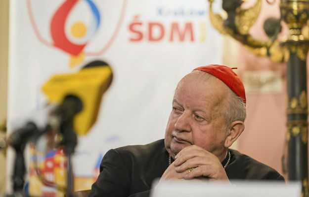 Kardynał Stanisław Dziwisz podziękował władzom państwowym za wsparcie przy organizacji Światowych Dni Młodzieży