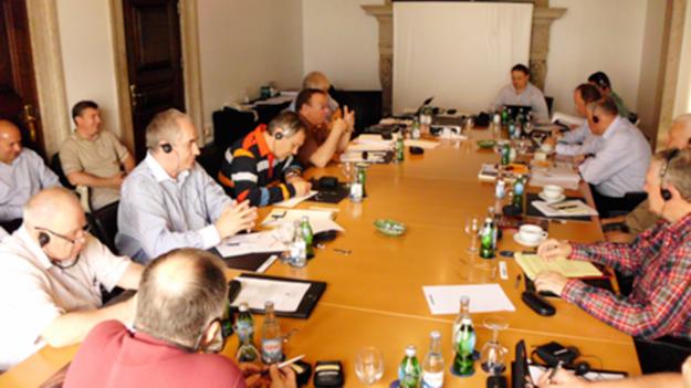 Zdjęcie ze spotkania grupy Elba w Lizbonie w 2011 roku