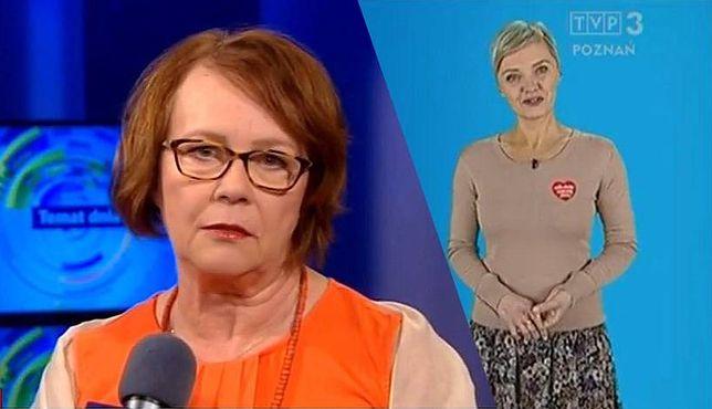 Agata Ławniczak, dyrektor TVP Poznań utrzymuje, że Patrycja Kasperczak nie została zwolniona