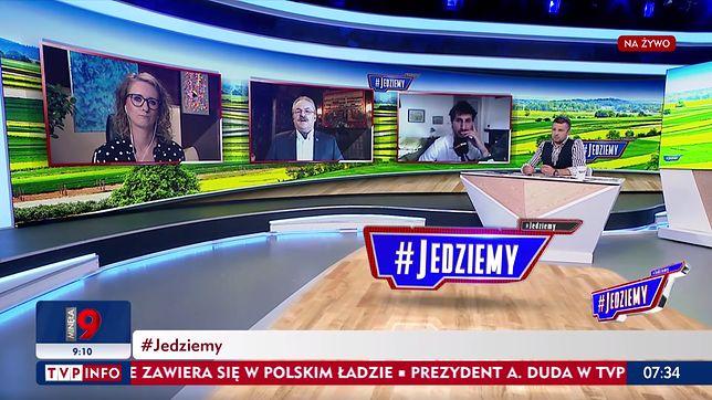 Marek Jakubiak grzmiał na warszawiaków w TVP Info
