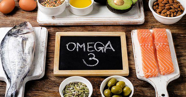 Najwięcej kwasów omega-3 znajduje się w rybach