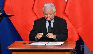 """""""Buntownicy"""" u Jarosława Kaczyńskiego. Tajemnicza wizyta polityków PiS na Nowogrodzkiej"""