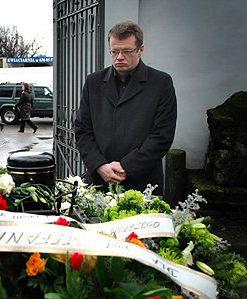 Kilkaset osób pożegnało Stefana Mellera