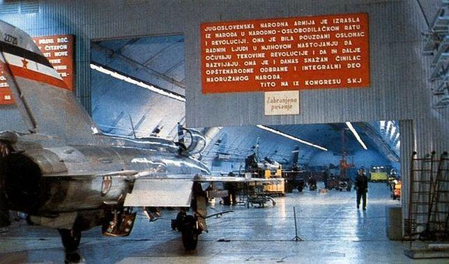 Chińczycy nie są pierwsi - w byłej Jugosławii powstało największe w Europie podziemne lotnisko.