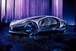 CES 2020. Mercedes-Benz AVTR - futurystyczny samochód inspirowany filmem Avatar