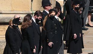 Kate i William na pogrzebie. Księcia Filipa pożegnali osobno